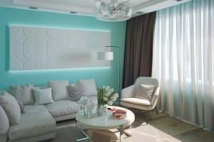 Дизайн интерьера Квартира ул Щербакова, фото 1