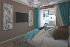 Дизайн интерьера Квартира ул Щербакова, фото 8