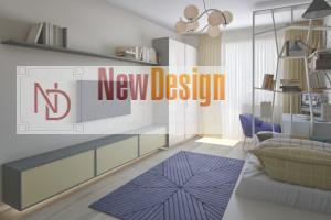 Дизайн интерьера от Newdesign в ЖК Солнечная Брама г. Киев - фото №4