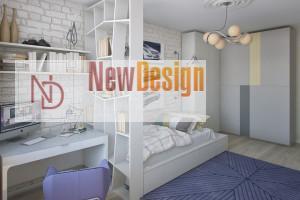 Дизайн интерьера от Newdesign в ЖК Солнечная Брама г. Киев - фото №5