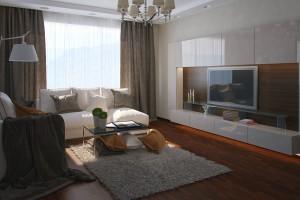 Дизайн интерьера Квартира ЖК Зеленый Остров, фото 11