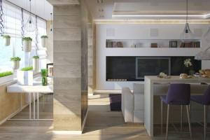 Дизайн интерьера Квартира г. Ирпень, фото 9