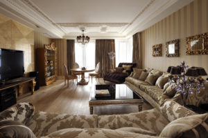Дизайна интерьера квартиры в стиле арт-деко - фото 25