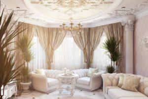 Дизайна интерьера квартиры в стиле барокко - фото 15