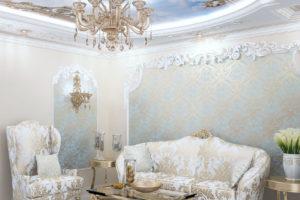 Дизайна интерьера квартиры в стиле барокко - фото 19