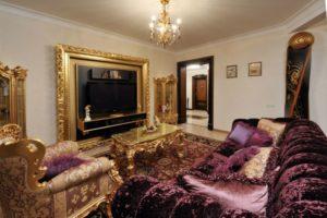Дизайна интерьера квартиры в стиле барокко - фото 21