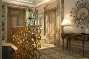 Дизайна интерьера квартиры в стиле барокко - фото 22
