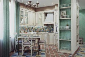 Дизайна интерьера квартиры в стиле прованс - фото 18