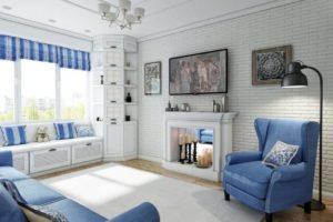 Дизайна интерьера квартиры в стиле прованс - фото 19