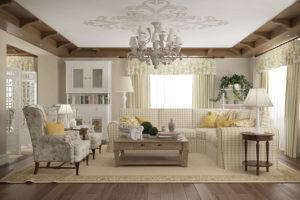 Дизайна интерьера квартиры в стиле прованс - фото 22