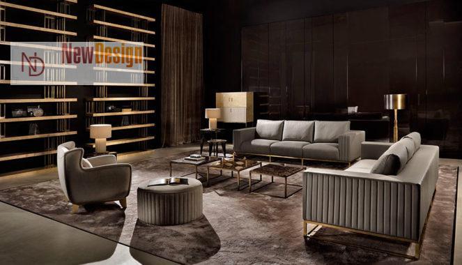 Мебель в стиле арт-деко для гостинной
