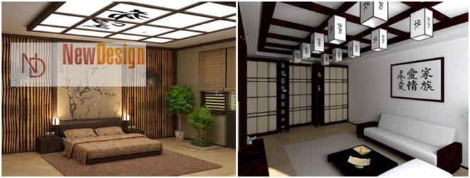 Светильники в япоском стиле