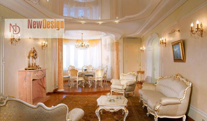 Фото дизайна квартир в классике
