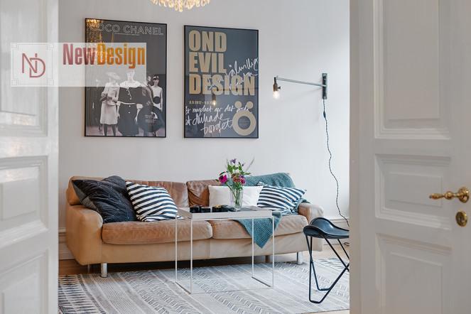 квартира в скандинавском стиле - фото