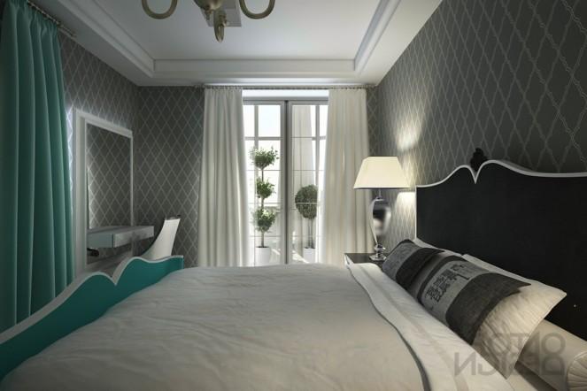 Фото спальни в английском стиле