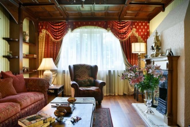 Фото дизайна квартиры в английском стиле