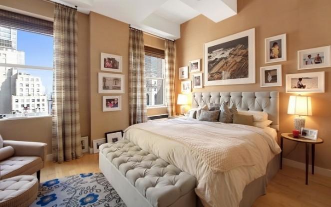 Фото спальни в американском стиле