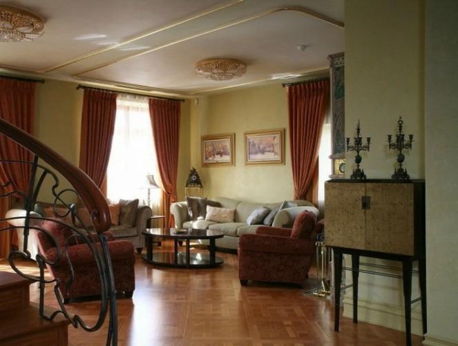 интерьеры гостиная в стиле модерн