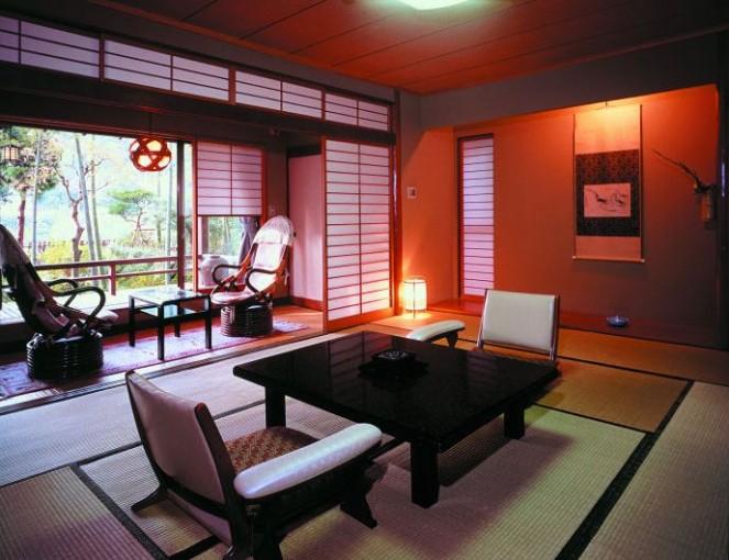 Японский стиль в интерьере - фото