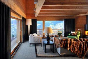 Дизайна интерьера квартиры в стиле шале - фото 25