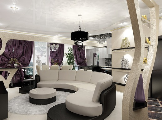 интерьер квартир в стиле арт деко