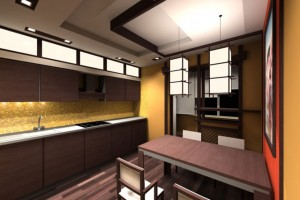 Фото дизайна квартиры в японском стиле