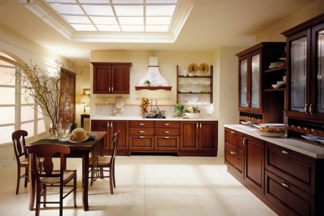 итальянский дизайн интерьера кухни
