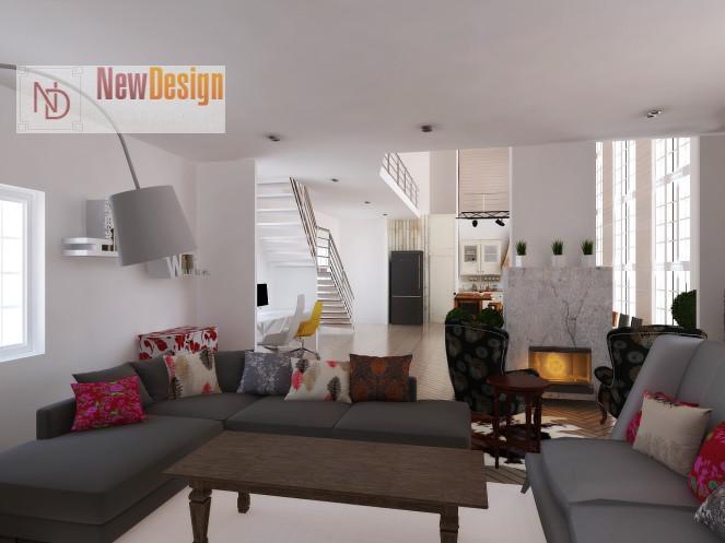 фото дизайна интерьера в скандинавском стиле
