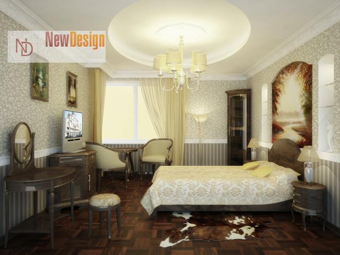 фото дизайна квартиры в классическом стиле