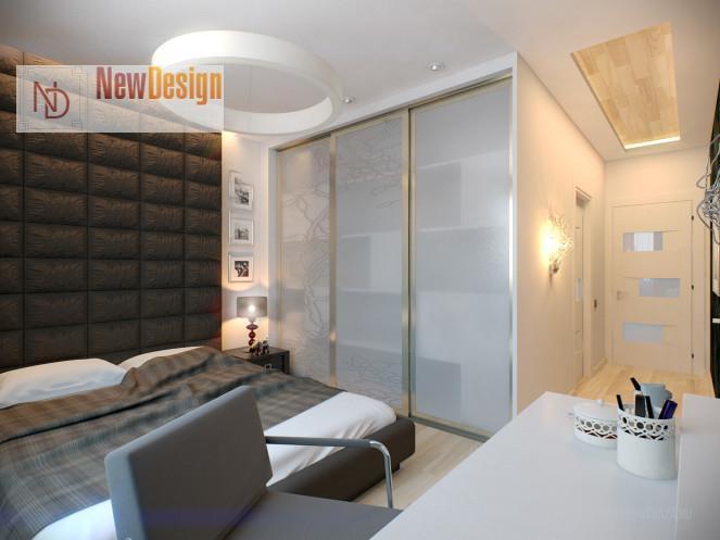 фото интерьера спальни минимализм