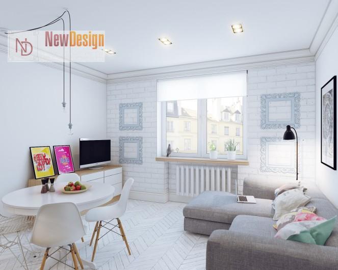 фото дизайна квартиры в скандинавском стиле
