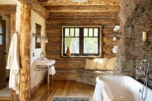 Дизайна интерьера квартиры в стиле шале - фото 19