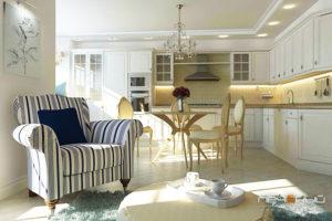 Дизайна интерьера квартиры в скандинавском стиле - фото 19