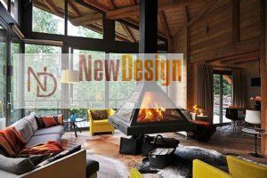 Дизайна интерьера квартиры в стиле шале - фото 20