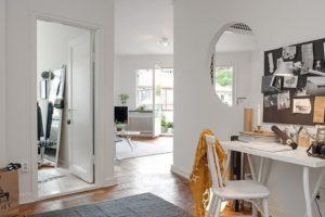 Дизайна интерьера квартиры в скандинавском стиле - фото 22