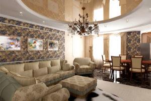 Дизайна интерьера квартиры в стиле арт-деко - фото 18