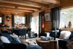 Дизайна интерьера квартиры в стиле шале - фото 23