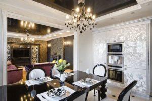Дизайна интерьера квартиры в стиле арт-деко - фото 26