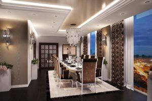 Дизайна интерьера квартиры в стиле арт-деко - фото 23