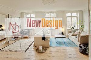 Дизайна интерьера квартиры в скандинавском стиле - фото 24