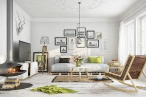 Дизайна интерьера квартиры в скандинавском стиле - фото 27