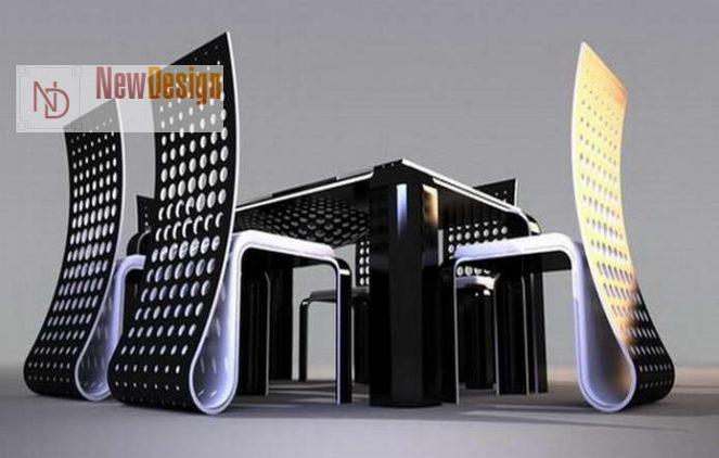 Мебель в стиле хай-тек - фото 8
