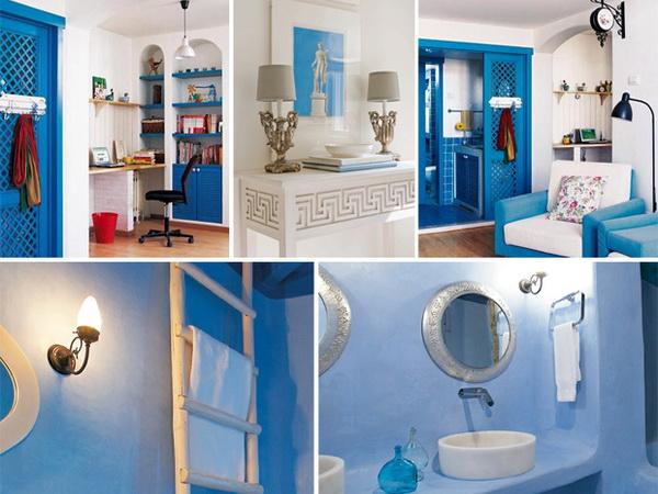 Предметы интерьера и декора в греческом интерьере - фото 5