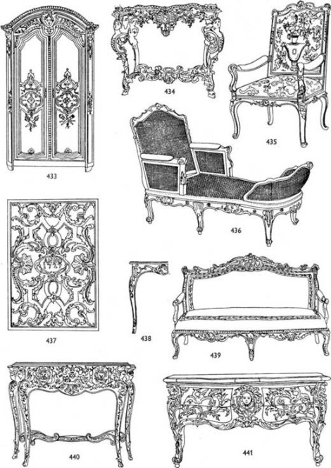 Особенности мебели стиля