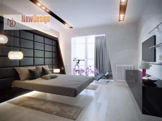 Оформление квартиры в стиле хай-тек - фото 2