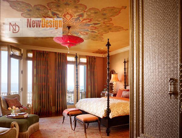 Потолок в восточном стиле - фото 13