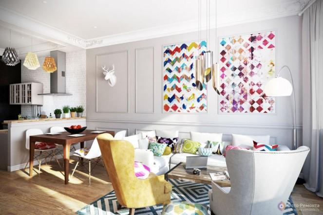 Цветовая гамма французского стиля