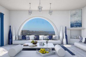 Дизайна интерьера квартиры в греческом стиле - фото 20