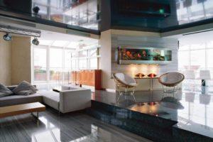 Дизайна интерьера квартиры в стиле хай-тек - фото 18