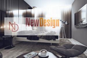 Дизайна интерьера квартиры в стиле хай-тек - фото 17